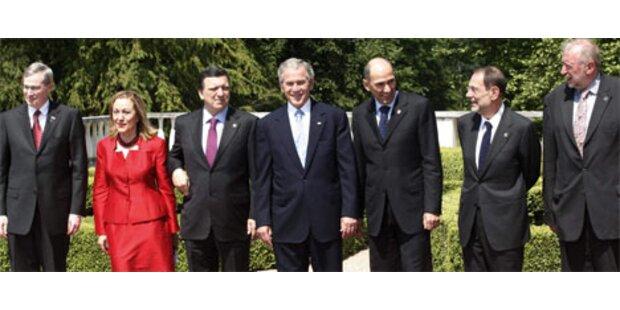 Bush fordert von der EU Härte gegen Iran