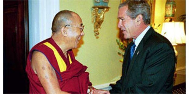 Bush ruft China zum Dialog mit Dalai Lama auf