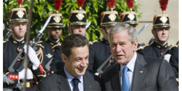 Bush nennt Frankreich