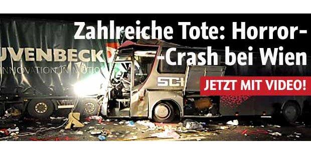 Mehrere Tote bei Horror-Crash nahe Wien