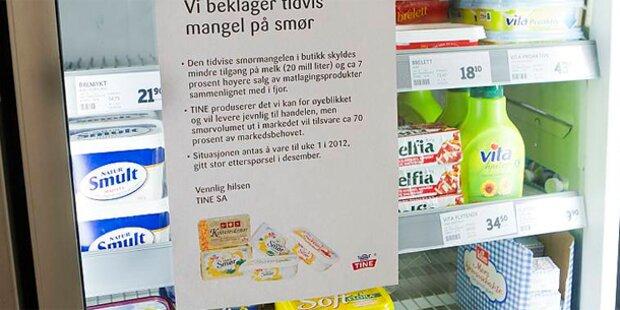 Norwegen: Ein Kilo Butter kostet 80 Euro