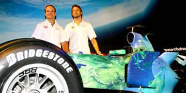 Button und Barrichello auch 2008 Stallkollegen