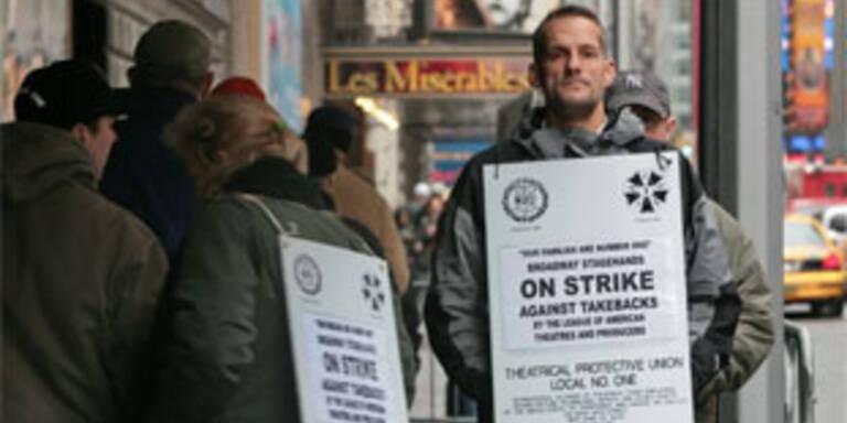 35 Mio Dollar-Klage gegen Broadway-Streik
