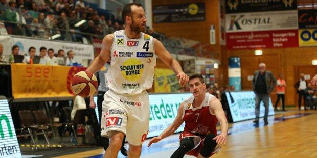 Basketball-Europacup: Österreich-Teams verlieren