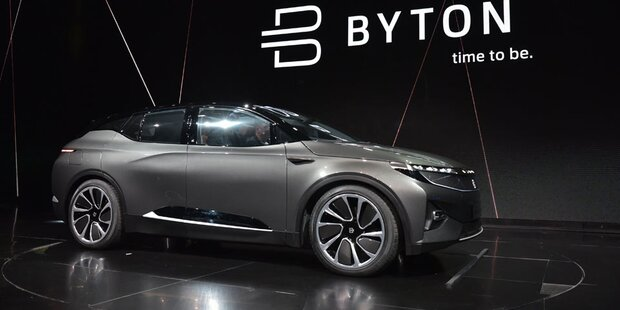 Byton greift Tesla, Audi & BMW an