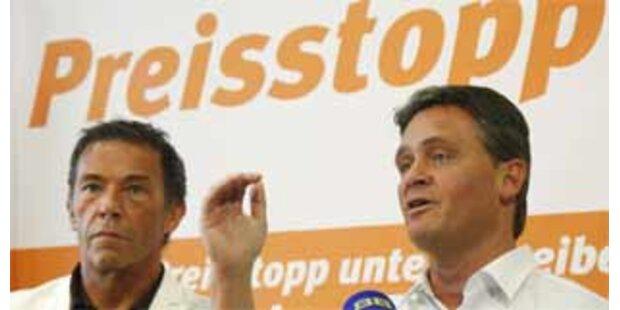 BZÖ leitet Volksbegehren für Preis-Stopp ein
