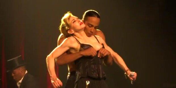 Madonna brach bei Auftritt in Tränen aus