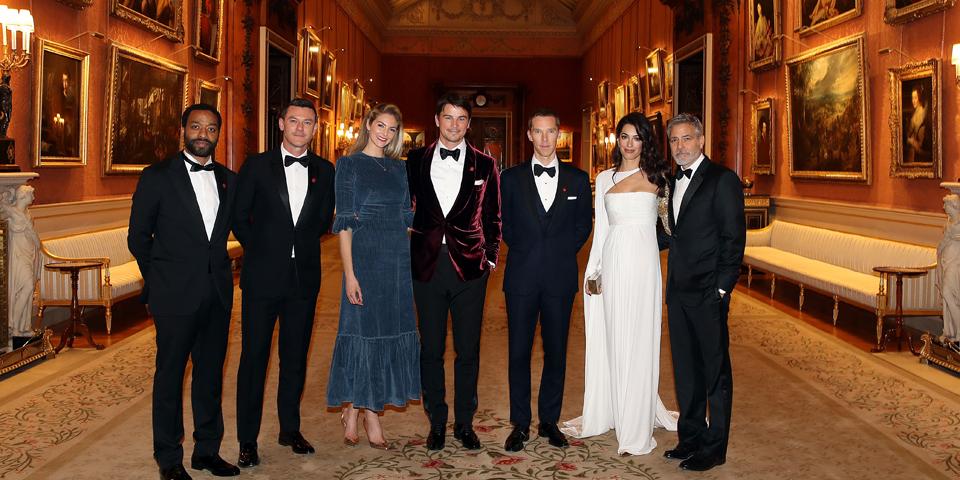 Clooney Charles Buckingham Palace