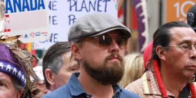 Leonardo di Caprio bei größter Klima-Demo
