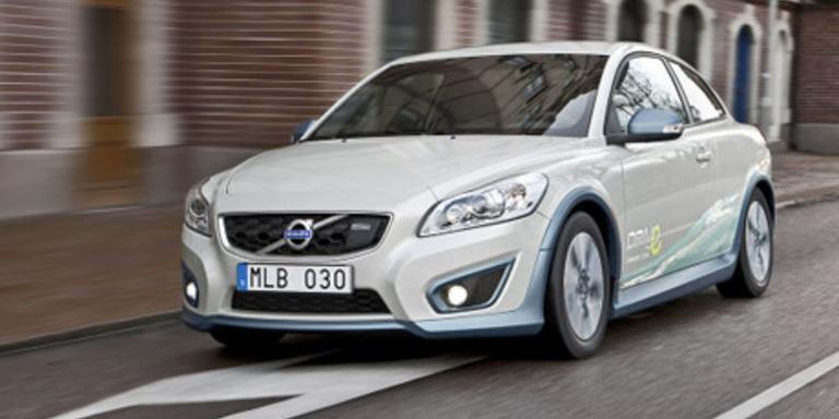 Volvo präsentiert E-Variante des C30