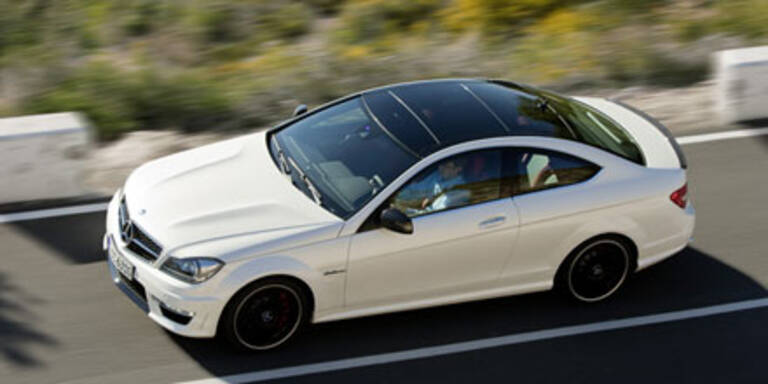 Weltpremiere des Mercedes C63 AMG Coupé