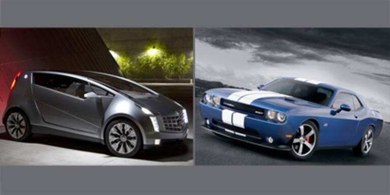 Dodge und Cadillac auf der LA Auto Show