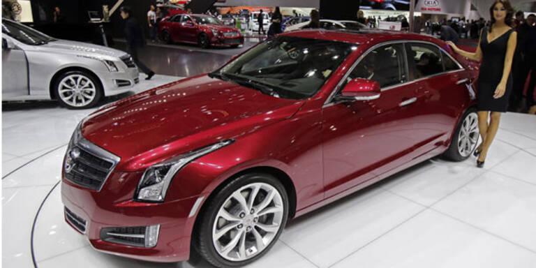 Cadillac ATS startet jetzt in Österreich