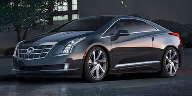 Cadillac ELR: Elektro-Coupé mit Reichweite