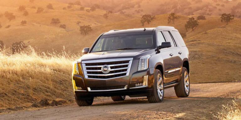Cadillac frischt den Escalade auf