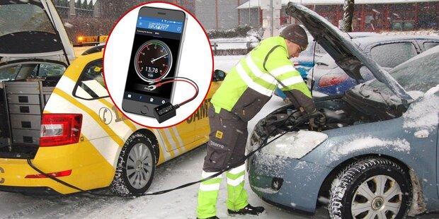 Neues Tool warnt vor leerer Autobatterie