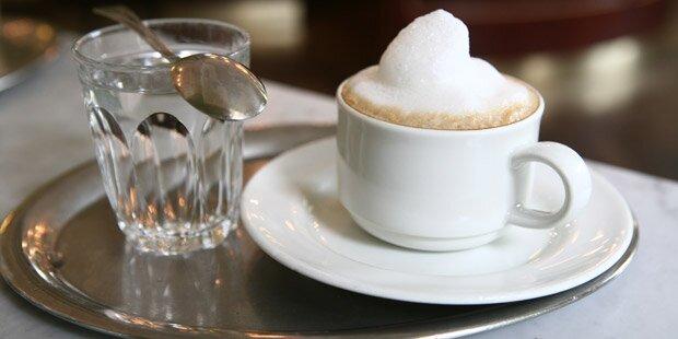 Kaffeehäuser erhöhen die Preise