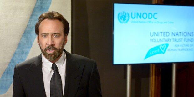 Nicolas Cage soll Freundin in Wien misshandelt haben