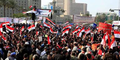 Demonstration in Kairo
