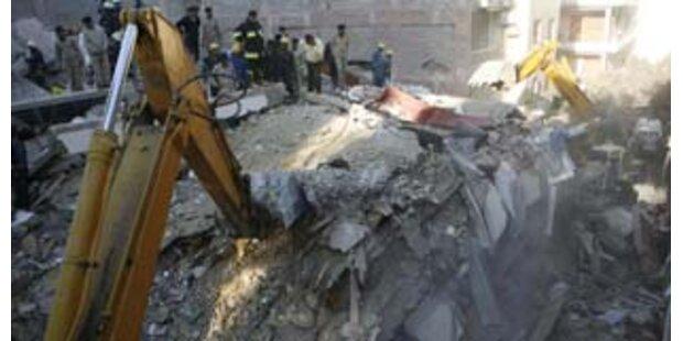 20 Tote bei Hauseinsturz in Ägypten