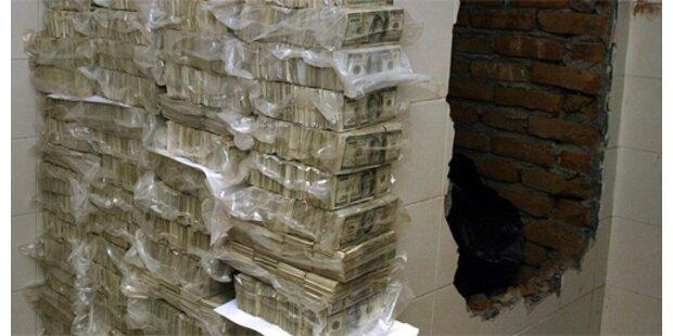 54 Mio Dollar Drogengeld beschlagnahmt