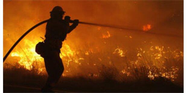 Zündelnder Bub löste Brand in Kalifornien aus