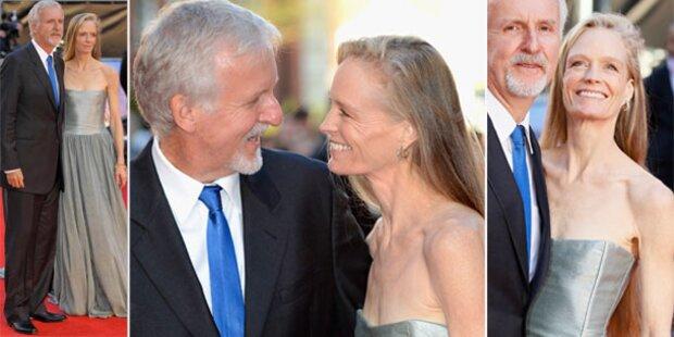 James Camerons Frau: Erschreckend dünn