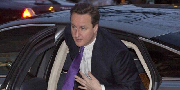 Cameron zu Überraschungsbesuch eingetroffen