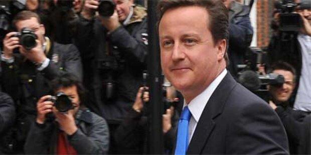 Cameron rückt Downing Street näher