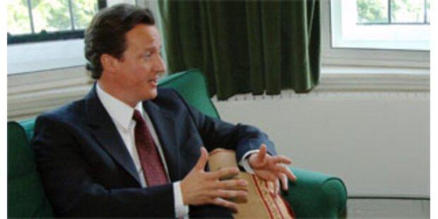 Britische Konservative auf 15-Jahres-Hoch