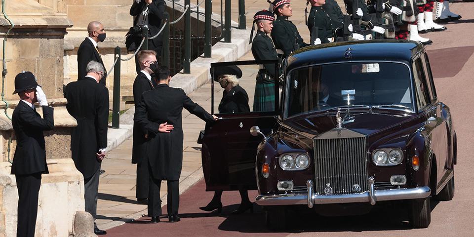 Begräbnis Prinz Philip