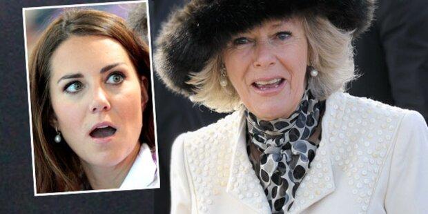 Camilla beschimpft Kate wegen Nackt-Fotos