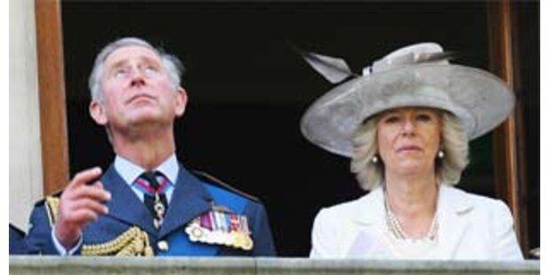 Camilla ist den Briten zu faul