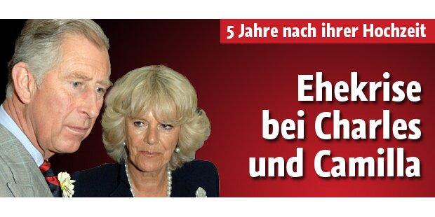 Charles und Camilla in der Ehe-Krise