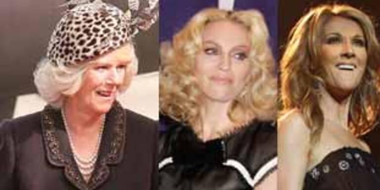 Camilla, Madonna & Celine: Verwandt?