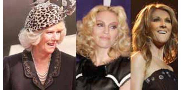 Madonna, Camilla und Celine haben selben Ur-Ahn