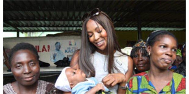 Hat Naomi Campbell Lust auf ein Baby?