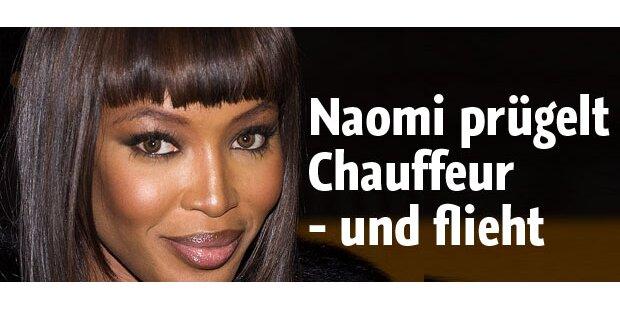 Naomi nach Prügelattacke auf der Flucht