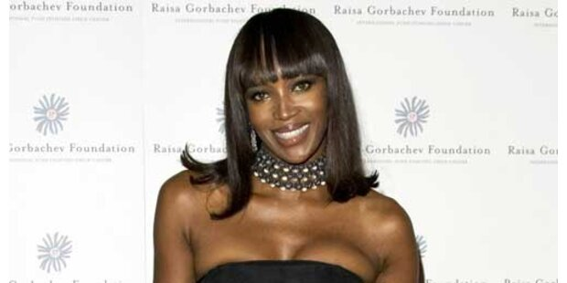 Versace-Mord trieb Naomi Campbell in Drogensucht