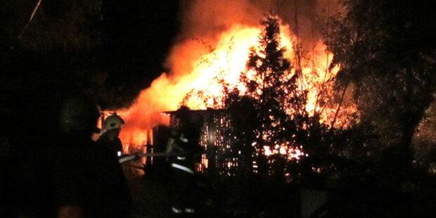 Toter nach Feuer am Campingplatz