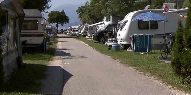 Amok-Lenker rast auf Campingplatz auf Urlauber zu