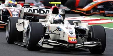 Ein Campos-Bolide in der GP2-Serie