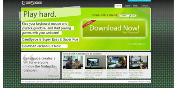 Mit CamSpace wird der PC zur Wii