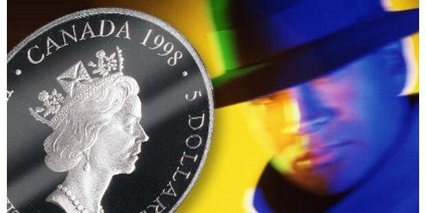Kanadische Dollar mit Minisendern aufgetaucht