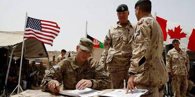 Kanadische Soldaten in Afghanistan
