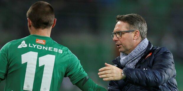 Rapid-Fans fordern jetzt Hofmann