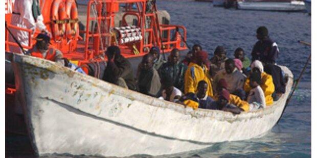Vermutlich 60 Flüchtlinge vor Kanaren gestorben
