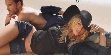 Victoria´s Secret's Candice Swanepoel für True Religion