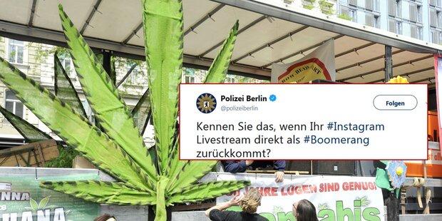 So genial stellte Polizei Marihuana-Influencerin bloß