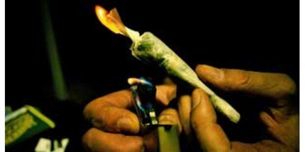 Obdachloser Mann dealte mit Cannabis